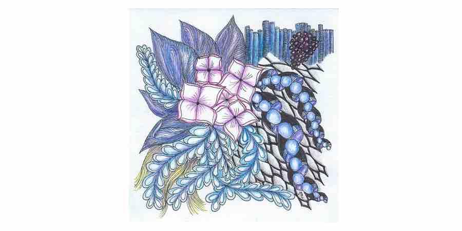 Imagenes dibujos zentangle