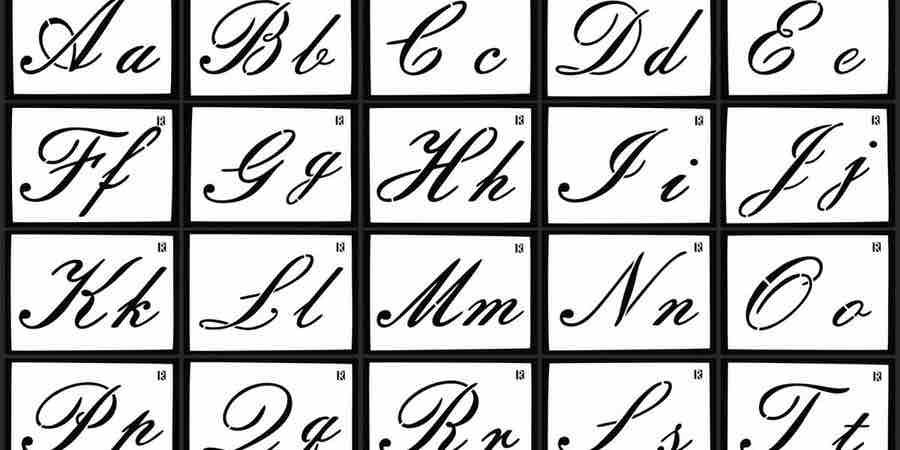 Fuentes caligraficas, plumas de caligrafía antigua, pluma caligrafía