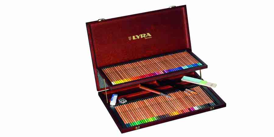 lapices de colores aquareables lyra
