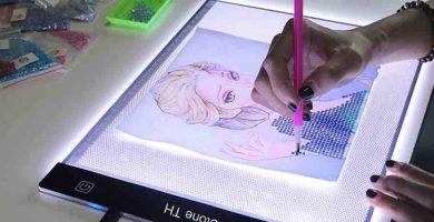 comprar mesas de luz para dibujo artistico y profesional