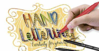 Comprar rotuladores lettring y lettering para principiantes