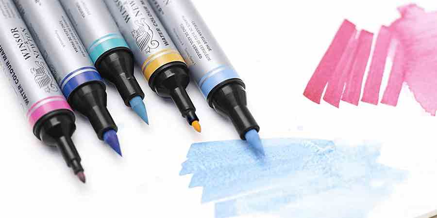 Rotuladores de acuarela Winsor and Newton
