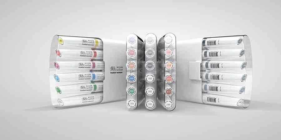 rotuladores pigment marker de winsor & Newton