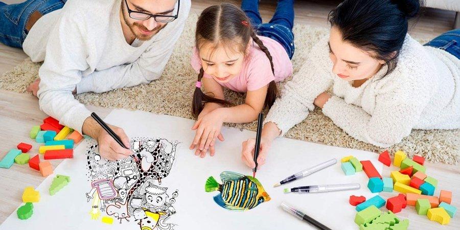 Rotuladores lettering para niños