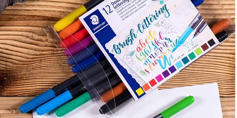 rotuladores lettering staedtler